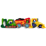 Number Construction Row Jigsaw Puzzle