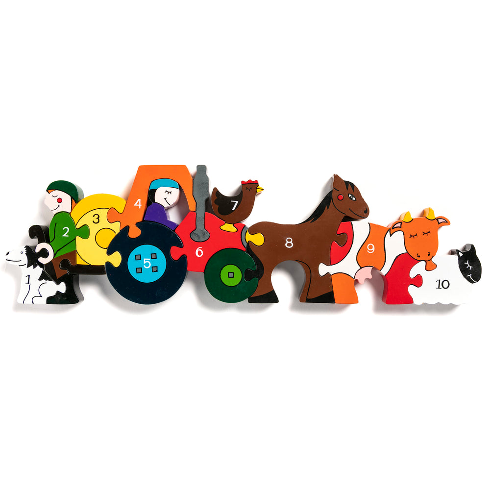 Number Farm Jigsaw Puzzle