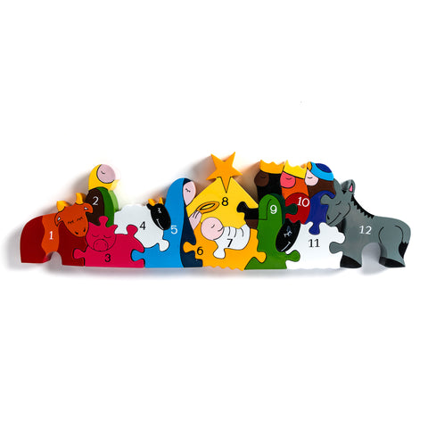 Number Nativity Jigsaw Puzzle