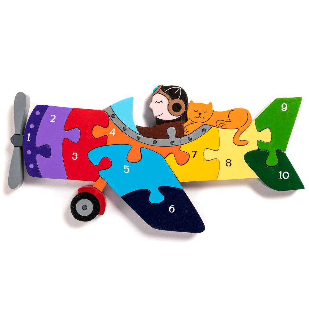 Number Plane Jigsaw Puzzle
