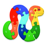 Number Snake Jigsaw Puzzle