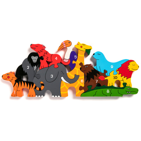 Number Zoo Jigsaw Puzzle