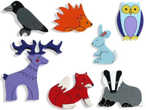 Woodland Animal Magnets