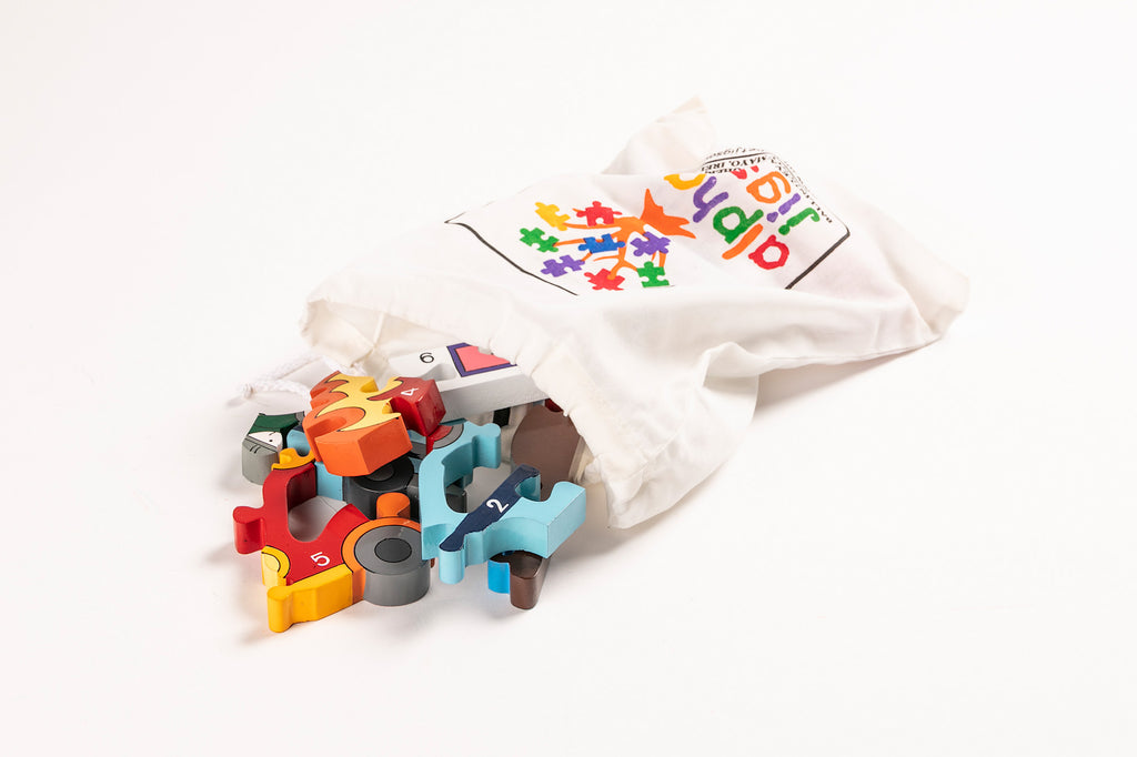 Number Emergency Jigsaw Puzzle Bag