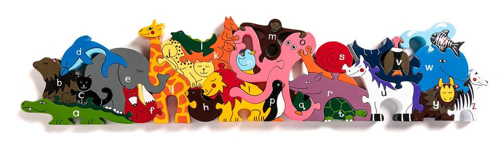 Alphabet Zoo Jigsaw & Playset