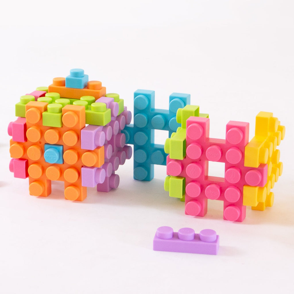 UNiPLAY Waffle Play Cube Blocks Small Cube 6pcs