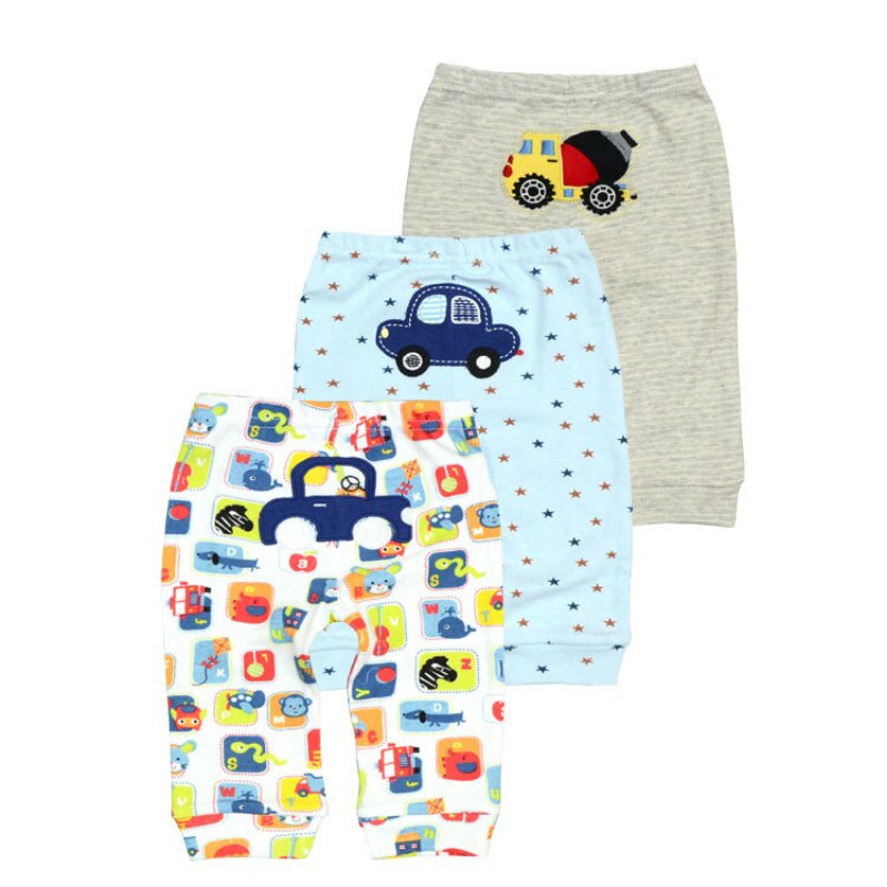 Casual Cotton Baby Pants Set