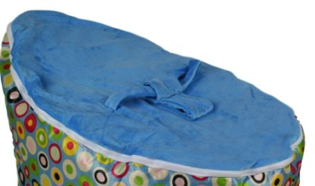 BayB Brand Baby Bean Bag Replacement Cover BayB Brand Blue
