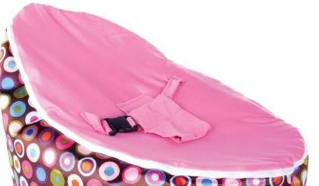 BayB Brand Baby Bean Bag Replacement Cover BayB Brand Pink