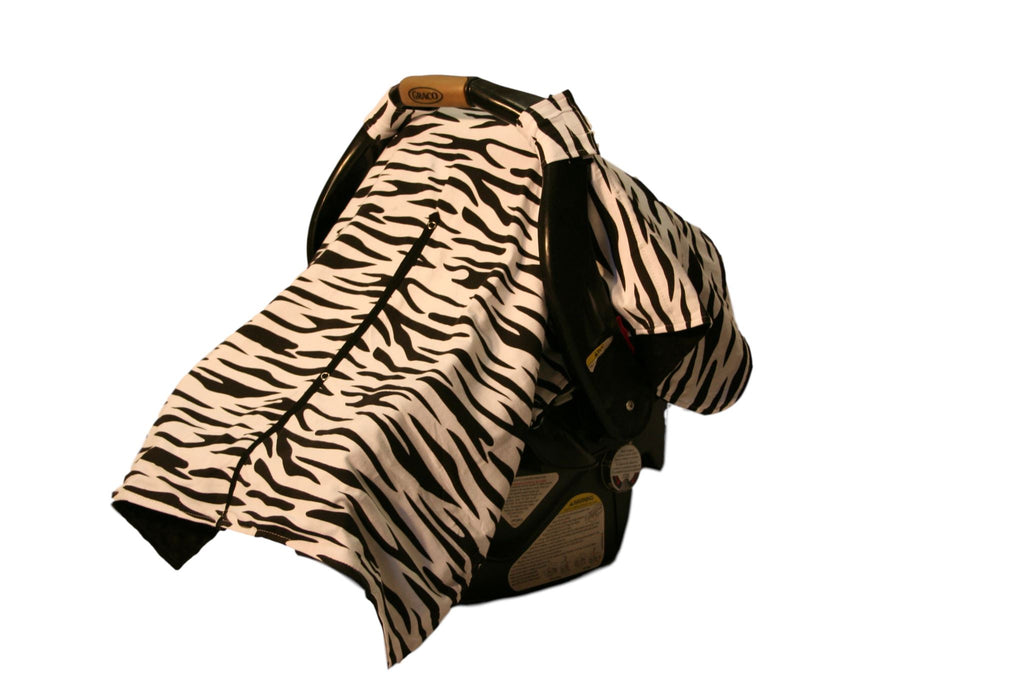 BayB Brand Car Seat Cover - Zebra & Black Car Seat Cover BayB Brand