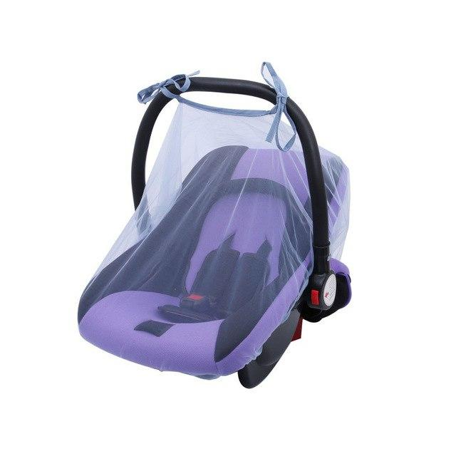 BayB Brand Carseat Cover - Mosquito Net Furniture Green Coco