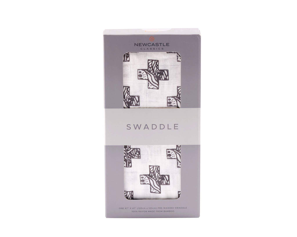 Newcastle Classics - Nordic Cross Swaddle Kids & Babies Lavender Charlie