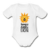 Hungry Little Lion Onesie - white