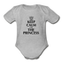 Keep Calm I am the Princess Onesie - heather gray