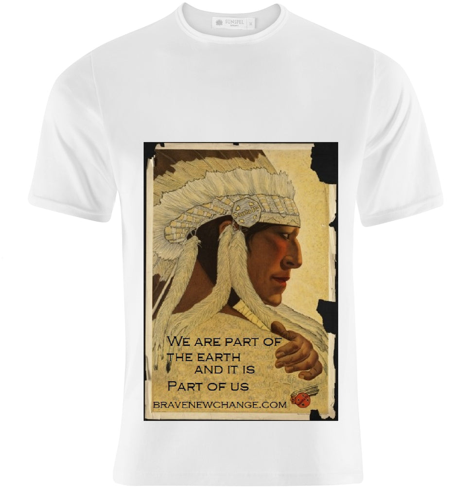 Indian Chief Climate Change T-Shirt