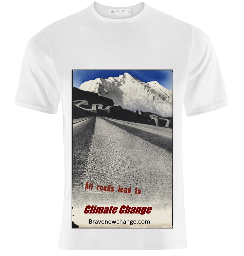 All Roads Lead to Climate Change T-Shirt