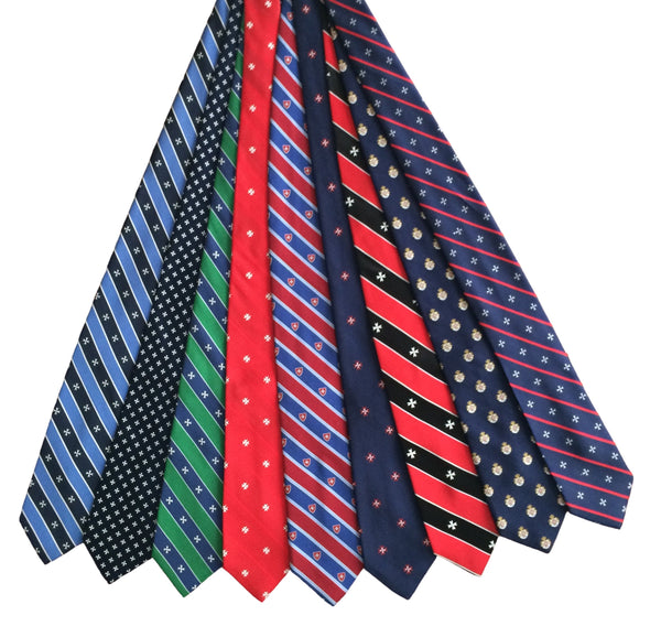 Malta Ties, Belts, Cuff Links, Pocket Squares, Lapel Pins, Dress Shirts