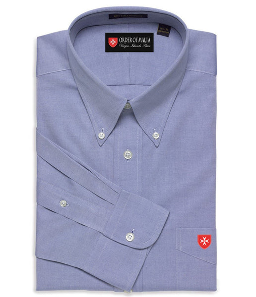 Dress Shirt Solid Color Botton Down Collar (Ties sold separately)