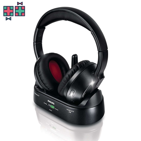 Philips SHC8575 - Draadloze over-ear koptelefoon - Zwart - Gift Doctors - 1