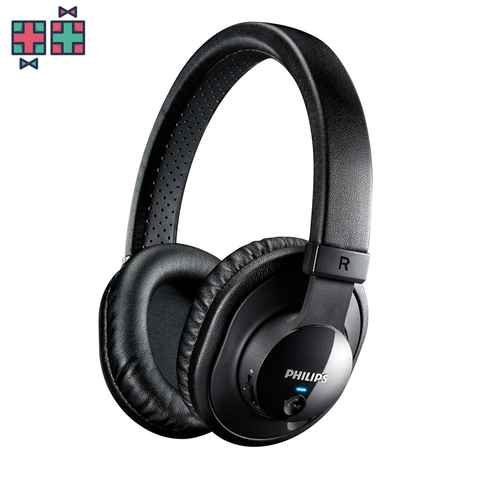 Philips SHB7150 - Draadloze over-ear koptelefoon - zwart - Gift Doctors - 1