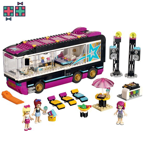LEGO Friends popstar bus - Gift Doctors - 1
