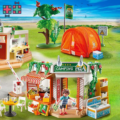 Playmobil Grote Camping - Gift Doctors - 1