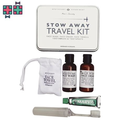 Men's society travel kit - Gift Doctors