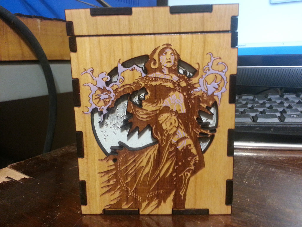 MTG Liliana Custom Deck Box