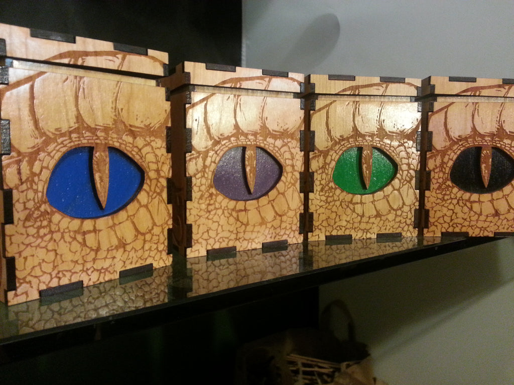 Dragon Deck Boxes of Various Colors