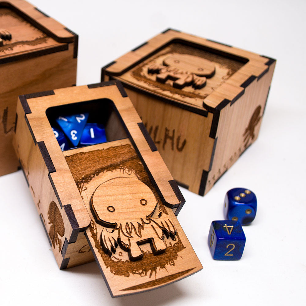 Chibi Cthulhu H. P. Lovecraft Dice Box