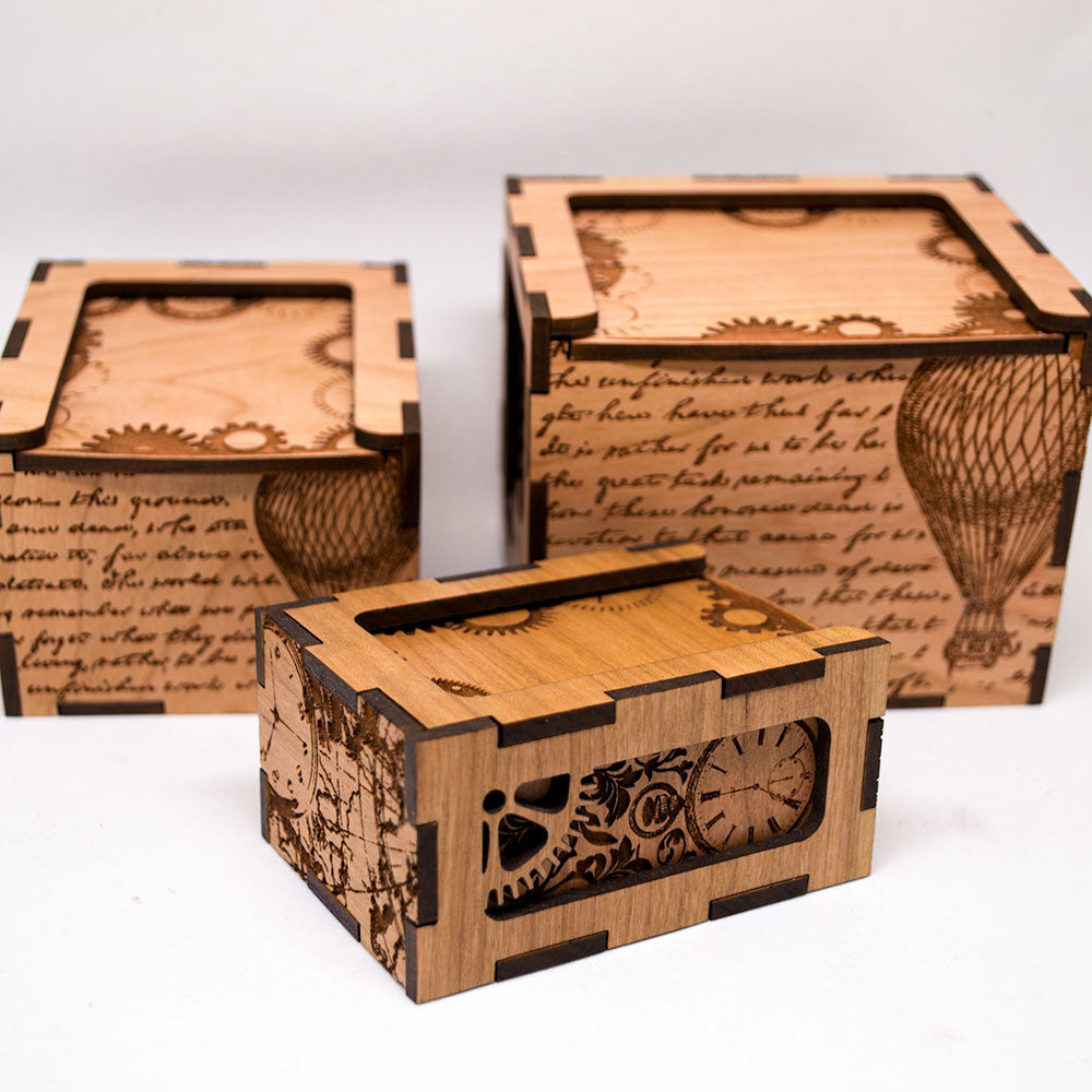 dungeons and dragons steampunk dice box d d dice box geek and gaming