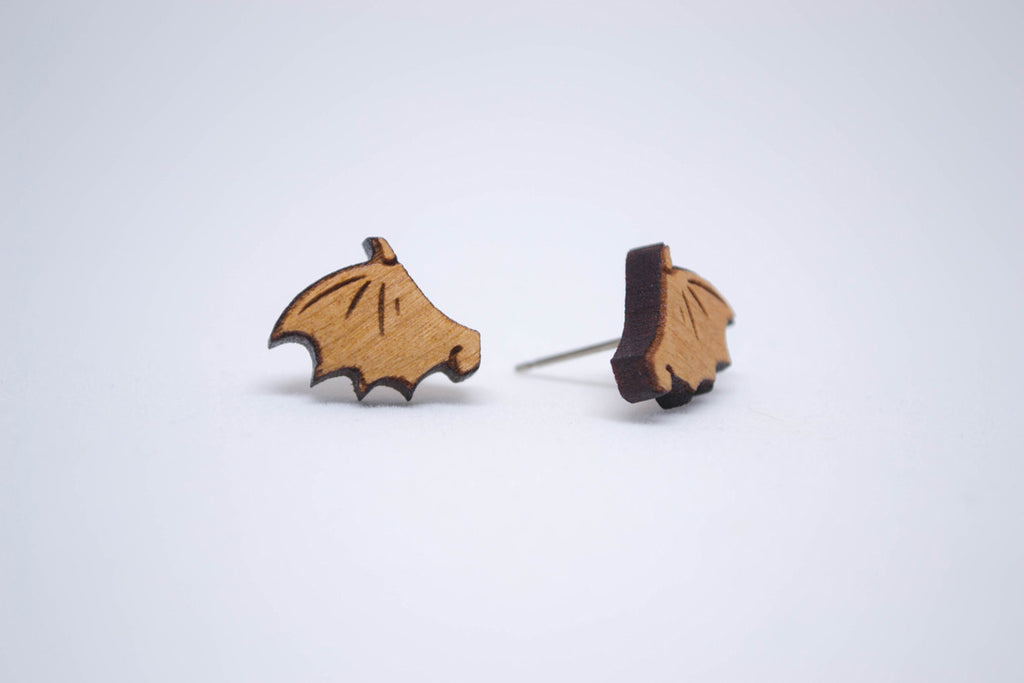 Minimalist Bat Earring Jewelry
