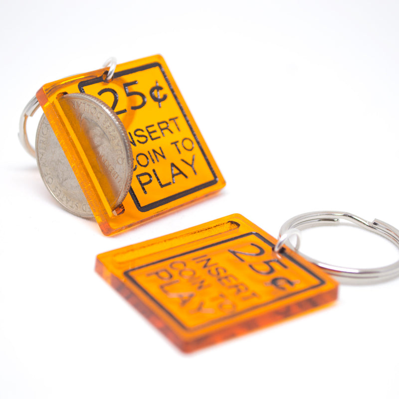 Retro Arcade Machine Keychain