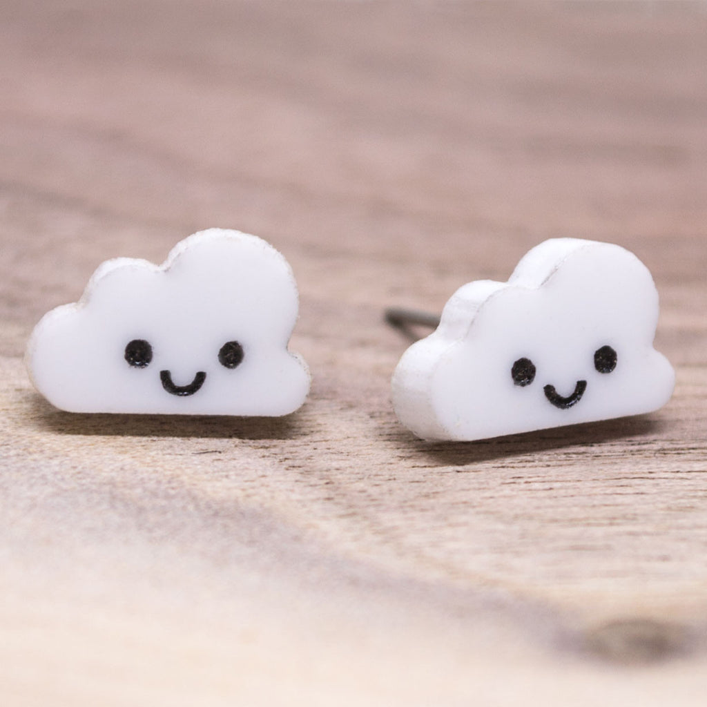Happy Cloud Earrings