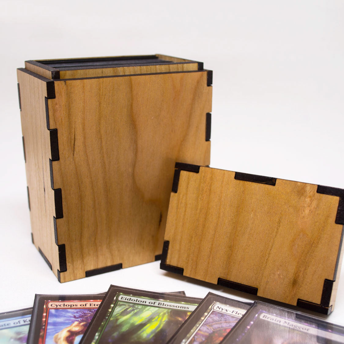 Magic The Gathering Deck Box Wooden Tcg Deck Box Geek And Gaming