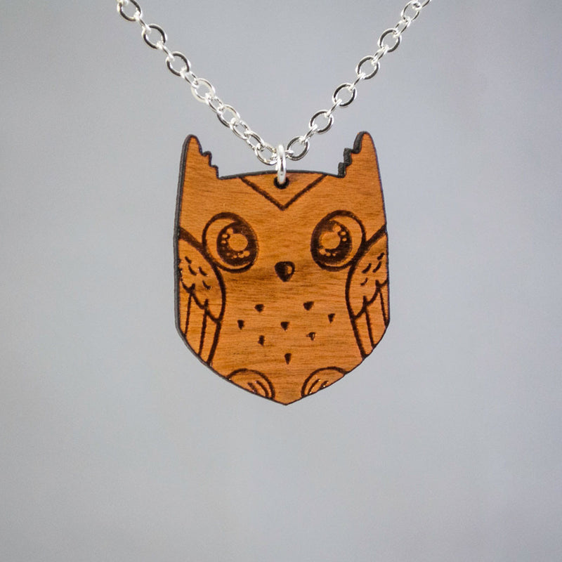 Unique Owl Art Design Jewelry