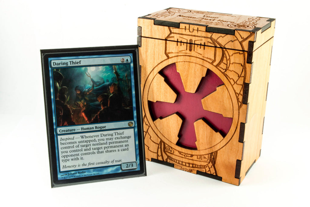 Sci-Fi Faux-Tech Magic the Gathering TCG Deck Box
