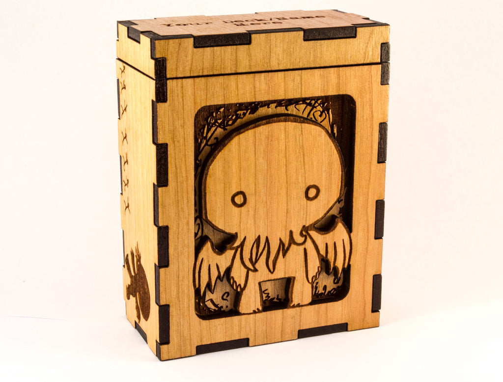 Chibi Cthulhu Magic the Gathering TCG Deck Box