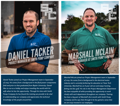 Employee Spotlight: Daniel Tacker & Marshall McLain