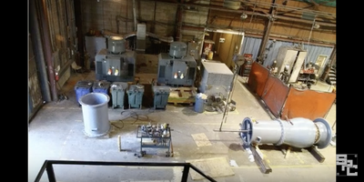 Assembly of a Large Vertical Mixed Flow Turbine Pump