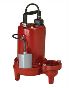 Liberty Pumps :: Model LE102M2-2 - Sewage Ejector pump, 1hp/208-230V/1ph, 25'cord, manual