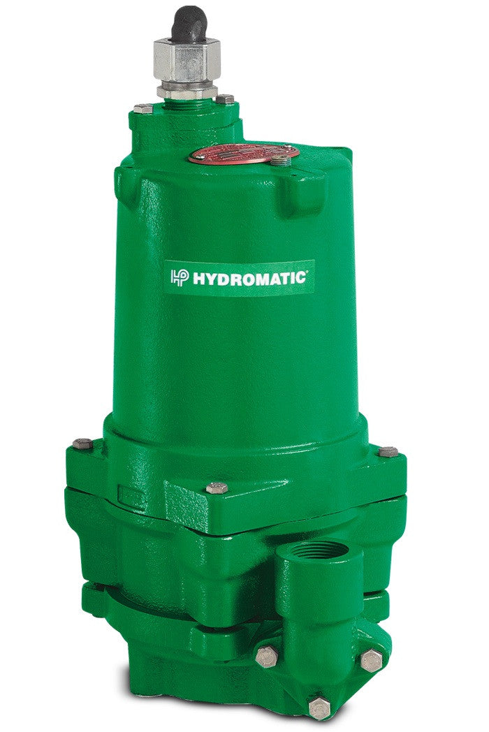 Hydromatic Pump :: Model HPG200M6-2 Submersible Sewage Grinder Pump,  2Hp/3Ph/208V/35'cord