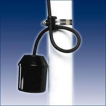 SJE Rhombus :: Switch-Sensor Float Mini, 10'cord, Pipe Clamp, Normally Open, M/N: 10MPC-N.O., 1002181