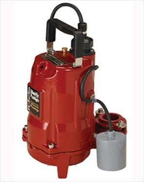 Liberty Pumps :: Model FL61A-2 - Effluent pump, 6/10hp/115V, 25'cord, wide-angl w/plug