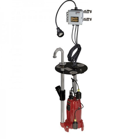 Liberty Pumps :: Model LSGX202-REX - Grinder Package, 208-230V/1ph, 2hp(2-stg), Retro-Fit E/One