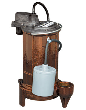 Liberty Pumps :: Model283 - Effluent pump, 1/2hp/115V, 25'cord, wide-angle w/plug
