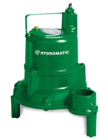 Hydromatic Pump :: Model SHEF40A1 Submersible Effluent Pump 4/10HP 115V 1PH Automatic 20' Cord
