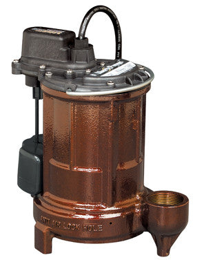 Liberty Pumps :: Model 257 VMF - Effluent pump, 1/3hp/115V, 10'cord, vert.switch