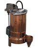 Liberty Pumps :: Model 283HV-2 - Effluent Pump, 1/2hp/208-230V, 25'cord, wide-angl w/plug
