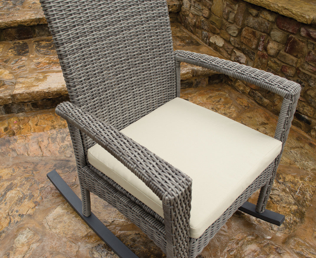 Peachy Bayview All Weather Wicker Rocking Chair Set Tortuga Outdoor Machost Co Dining Chair Design Ideas Machostcouk